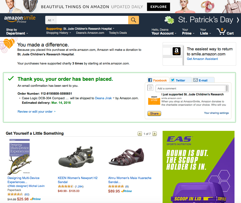 smile.amazon.com top nav after